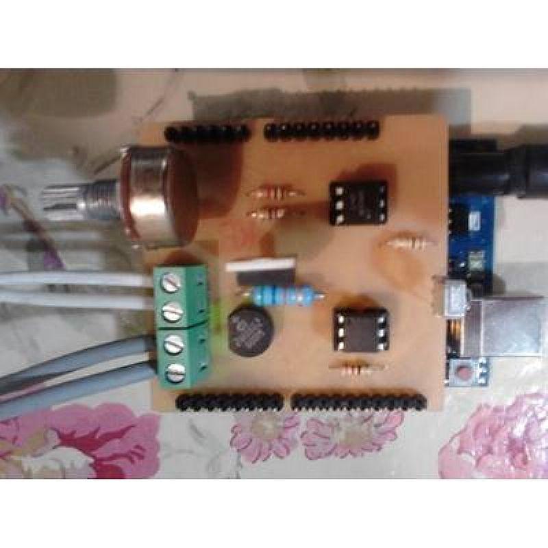 Dimmer shield arduino 200w/110v ou 400w/220v